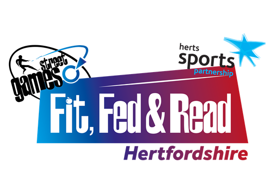 Herts School Partnership - Fit Fed and Read Logo